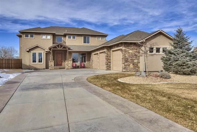 723 Cloud Cliff Court, Grand Junction, CO 81507 (MLS #20200282) :: The Christi Reece Group