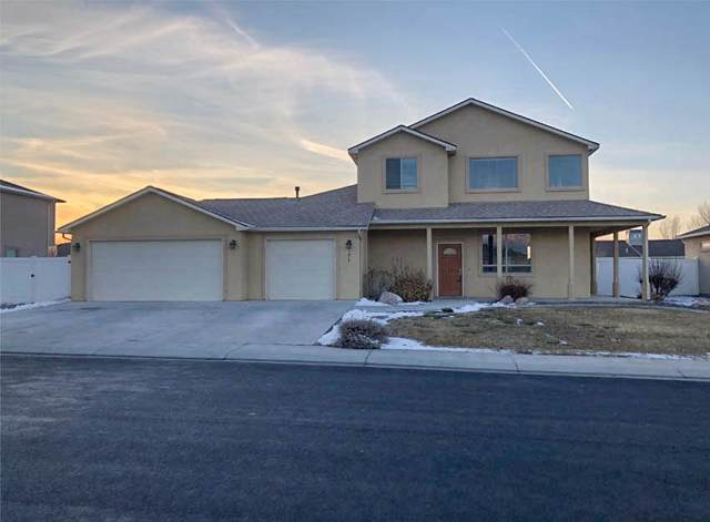 171 Winter Hawk Drive, Grand Junction, CO 81503 (MLS #20200294) :: The Christi Reece Group