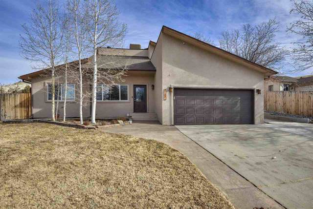 2396 Ridgeway Court, Grand Junction, CO 81507 (MLS #20200311) :: The Christi Reece Group