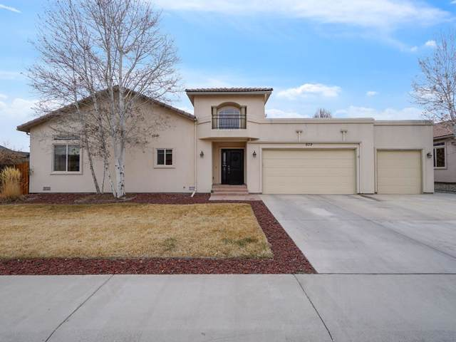 939 Echo Canyon Street, Fruita, CO 81521 (MLS #20200349) :: The Grand Junction Group with Keller Williams Colorado West LLC
