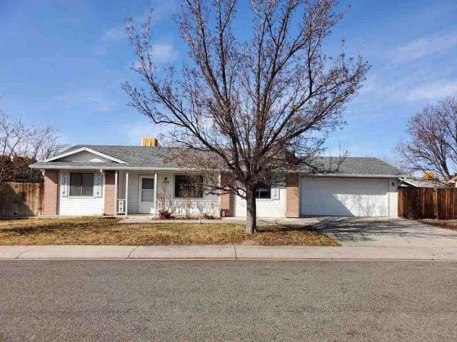 589 Darby Drive, Grand Junction, CO 81504 (MLS #20200802) :: The Christi Reece Group
