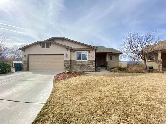 567 Cagney Court, Grand Junction, CO 81501 (MLS #20201149) :: The Grand Junction Group with Keller Williams Colorado West LLC