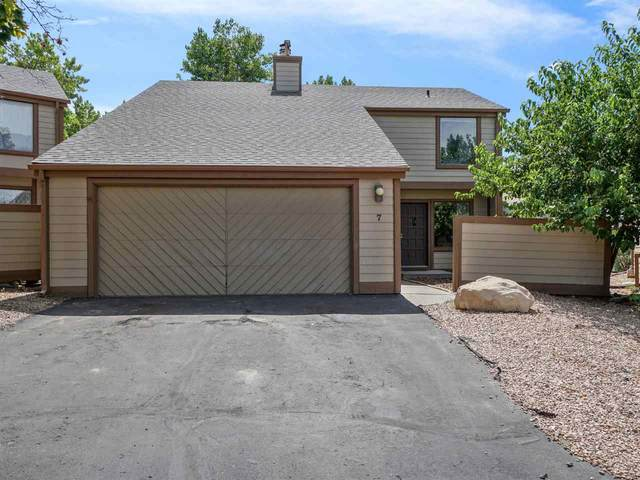 397 Ridge Circle Drive #7, Grand Junction, CO 81507 (MLS #20201338) :: Western Slope Real Estate