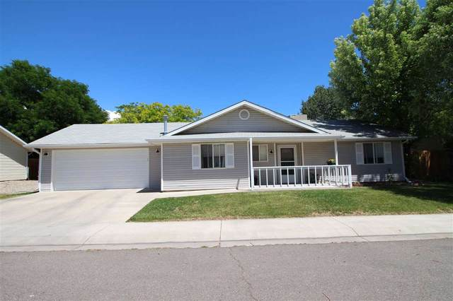 586 W Greenfield Circle, Grand Junction, CO 81504 (MLS #20203036) :: The Christi Reece Group