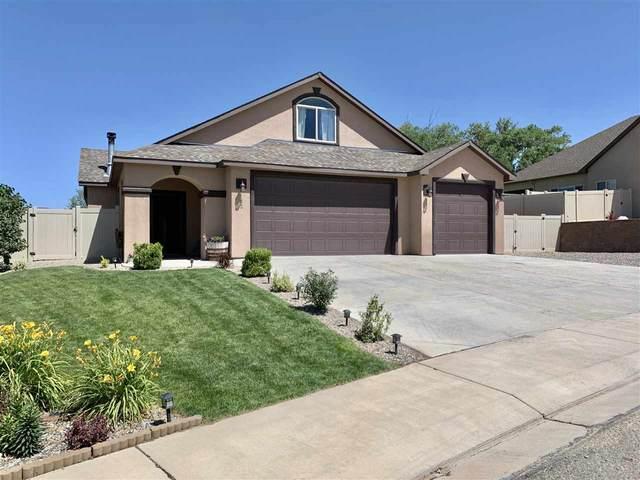 182 Falcon Ridge Drive, Grand Junction, CO 81503 (MLS #20203213) :: CENTURY 21 CapRock Real Estate