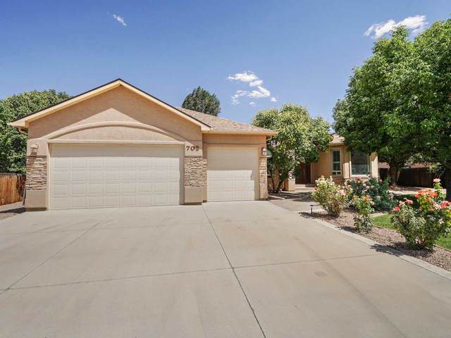 702 Tranquil Trail, Grand Junction, CO 81507 (MLS #20203888) :: The Danny Kuta Team