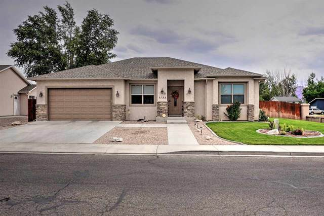 1132 Black Ridge Drive, Fruita, CO 81521 (MLS #20204380) :: The Christi Reece Group