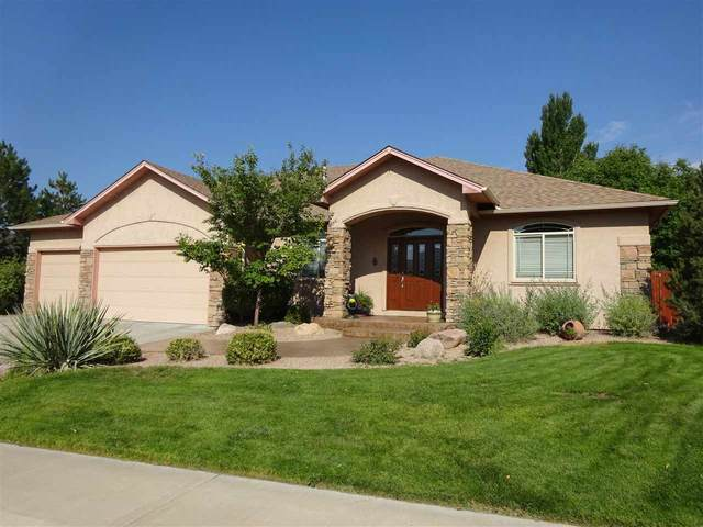 682 Tranquil Trail, Grand Junction, CO 81505 (MLS #20204479) :: The Danny Kuta Team