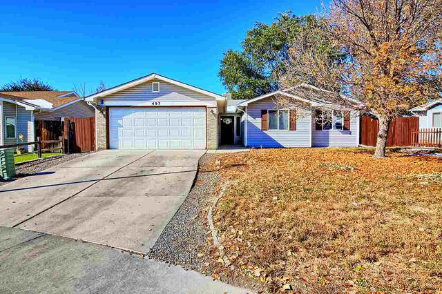 497 Ridge Lane, Grand Junction, CO 81504 (MLS #20205430) :: The Grand Junction Group with Keller Williams Colorado West LLC