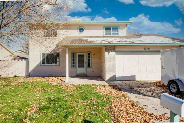 576 S Asbury Court, Grand Junction, CO 81504 (MLS #20205459) :: CENTURY 21 CapRock Real Estate