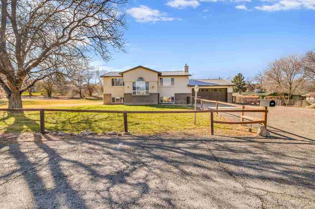 605 Wagon Trail Dr, Grand Junction, CO 81507 (MLS #20205708) :: The Grand Junction Group with Keller Williams Colorado West LLC
