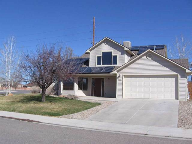 3162 Pelton Drive, Grand Junction, CO 81504 (MLS #20210251) :: The Christi Reece Group