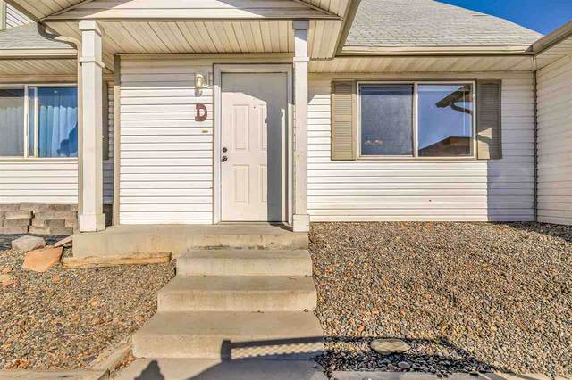 395 Sunnyside Court D, Grand Junction, CO 81504 (MLS #20210256) :: The Grand Junction Group with Keller Williams Colorado West LLC
