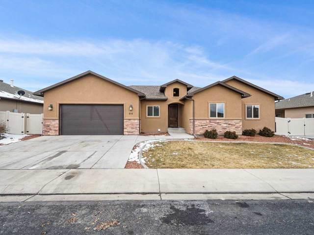215 Vista Hills Drive, Grand Junction, CO 81503 (MLS #20210314) :: Lifestyle Living Real Estate