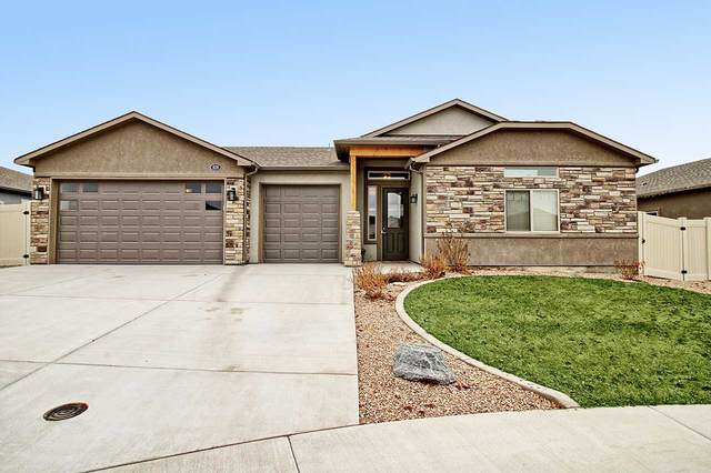 626 Ravine Court, Grand Junction, CO 81504 (MLS #20210477) :: The Christi Reece Group