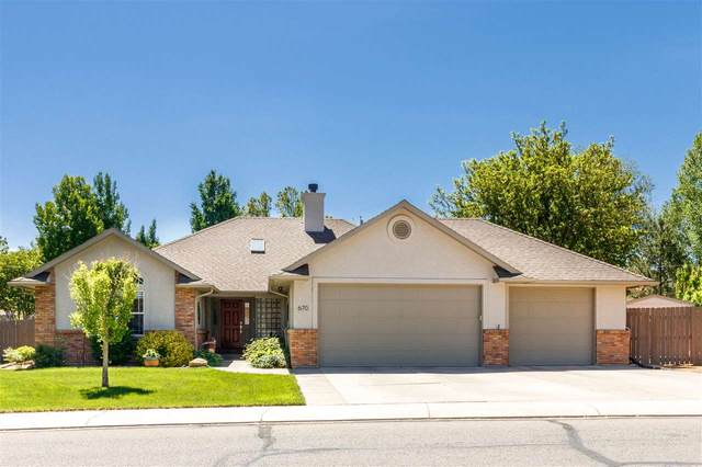 670 Long Rifle Road, Grand Junction, CO 81507 (MLS #20210557) :: The Grand Junction Group with Keller Williams Colorado West LLC