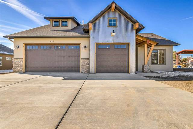 619 Orange Grove Way, Grand Junction, CO 81504 (MLS #20210633) :: The Grand Junction Group with Keller Williams Colorado West LLC