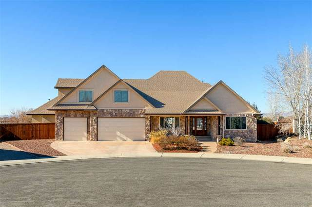 853 S Haven Crest Court, Grand Junction, CO 81506 (MLS #20210940) :: CENTURY 21 CapRock Real Estate