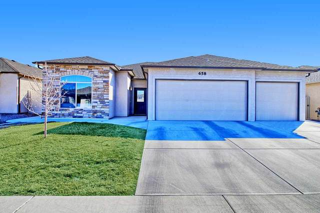 658 Turnberry Court, Grand Junction, CO 81504 (MLS #20210951) :: The Kimbrough Team | RE/MAX 4000