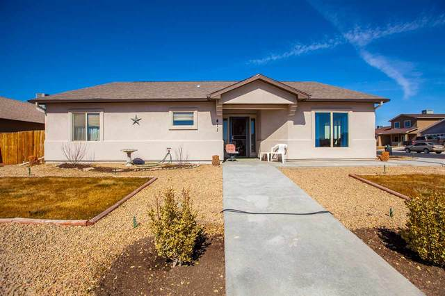 411 Pear Meadows Street, Grand Junction, CO 81504 (MLS #20210952) :: The Kimbrough Team   RE/MAX 4000