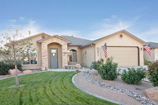 671 Turnberry Court, Grand Junction, CO 81504 (MLS #20210978) :: The Kimbrough Team | RE/MAX 4000