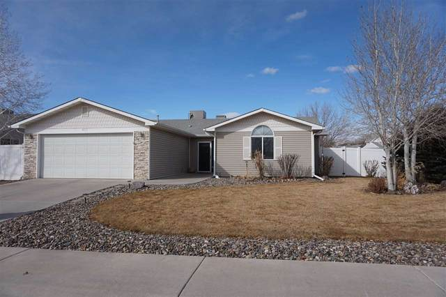 645 Longs Peaks Drive, Grand Junction, CO 81504 (MLS #20210983) :: Western Slope Real Estate