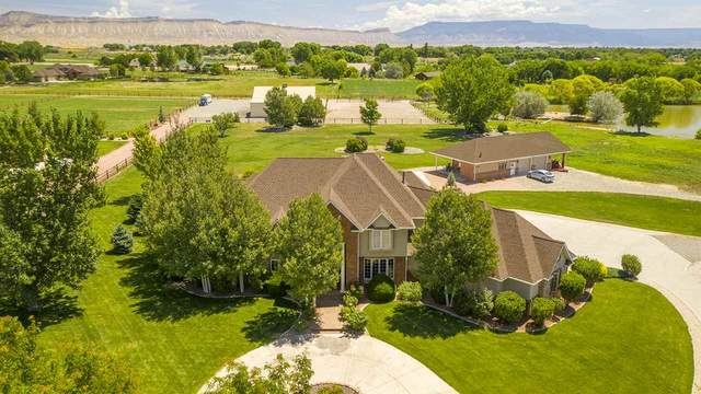 2455 Home Ranch Court, Grand Junction, CO 81505 (MLS #20211031) :: The Danny Kuta Team