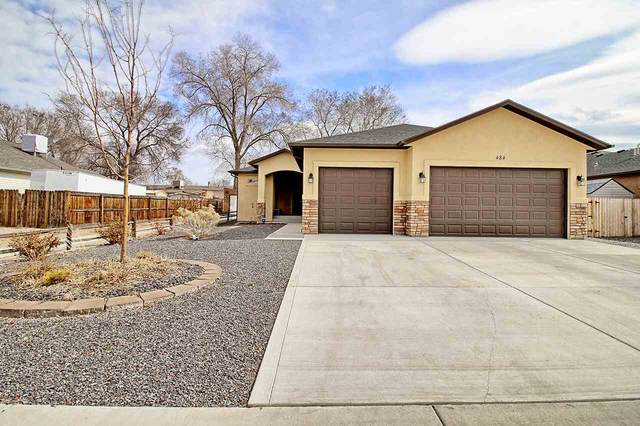 484 Hawthorne Street, Fruita, CO 81521 (MLS #20211077) :: The Joe Reed Team