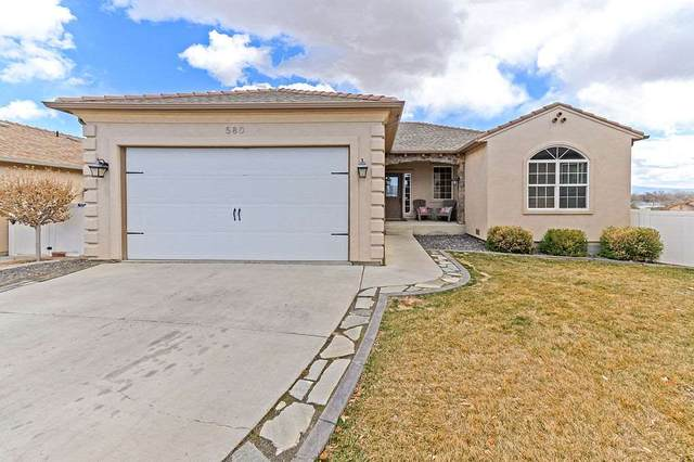 580 Sinatra Way, Grand Junction, CO 81501 (MLS #20211105) :: The Grand Junction Group with Keller Williams Colorado West LLC