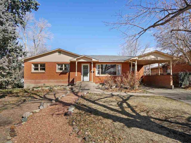 570 Hall Avenue, Grand Junction, CO 81501 (MLS #20211167) :: The Kimbrough Team | RE/MAX 4000