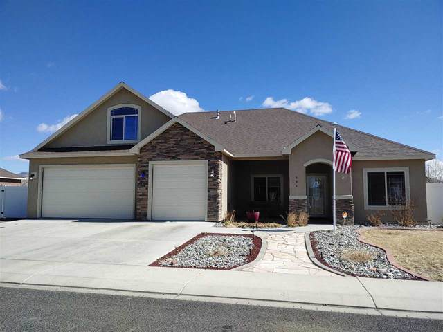 406 Wilkins Drive, Grand Junction, CO 81504 (MLS #20211218) :: The Kimbrough Team | RE/MAX 4000