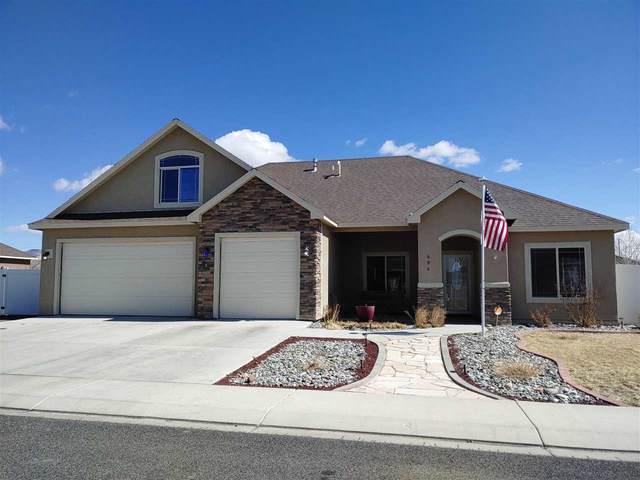 406 Wilkins Drive, Grand Junction, CO 81504 (MLS #20211218) :: CENTURY 21 CapRock Real Estate