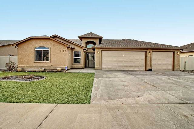 3169 Stoneburro Drive, Grand Junction, CO 81504 (MLS #20211227) :: The Grand Junction Group with Keller Williams Colorado West LLC