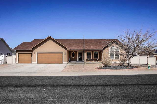 2856 Chamomile Drive, Grand Junction, CO 81501 (MLS #20211281) :: The Kimbrough Team | RE/MAX 4000