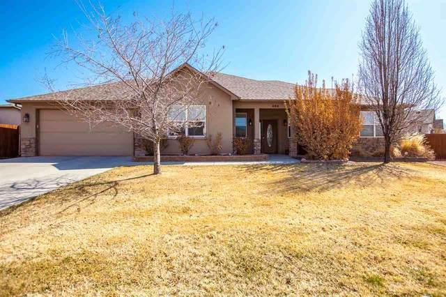 466 Bulla Drive, Grand Junction, CO 81504 (MLS #20211310) :: The Joe Reed Team