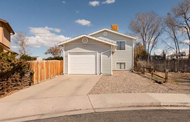 1185 Olson Circle, Grand Junction, CO 81503 (MLS #20211315) :: The Grand Junction Group with Keller Williams Colorado West LLC