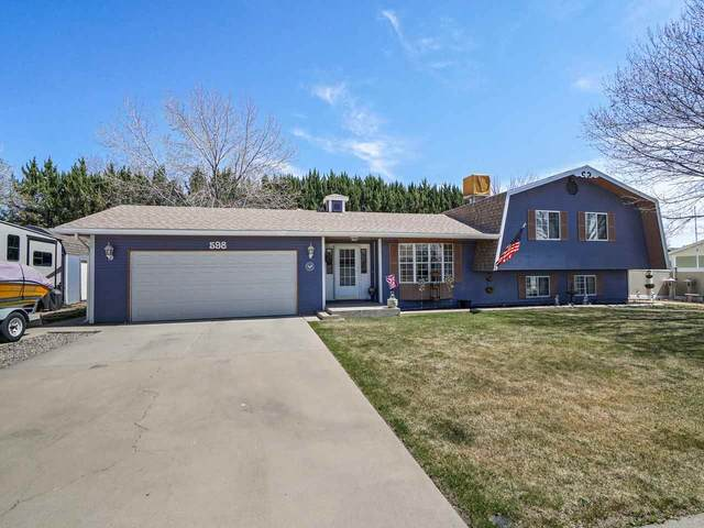 598 Stanford Way, Grand Junction, CO 81504 (MLS #20211629) :: Lifestyle Living Real Estate