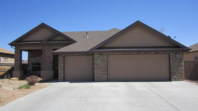 860 Doug Drive, Fruita, CO 81521 (MLS #20211692) :: The Joe Reed Team