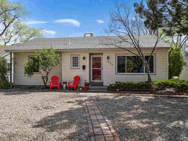 435 Orchard Avenue, Grand Junction, CO 81501 (MLS #20211812) :: Michelle Ritter