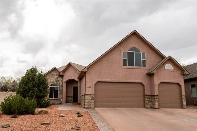 697 Tilman Drive, Grand Junction, CO 81506 (MLS #20211847) :: The Grand Junction Group with Keller Williams Colorado West LLC
