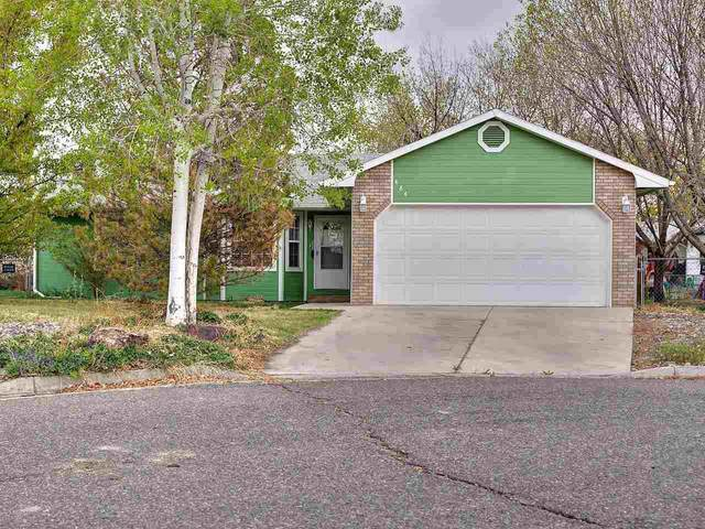 484 Ol Sun Drive, Grand Junction, CO 81505 (MLS #20211940) :: The Joe Reed Team
