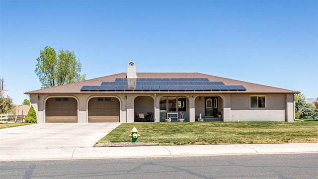 2192 Canyon View Drive, Grand Junction, CO 81507 (MLS #20212024) :: The Christi Reece Group