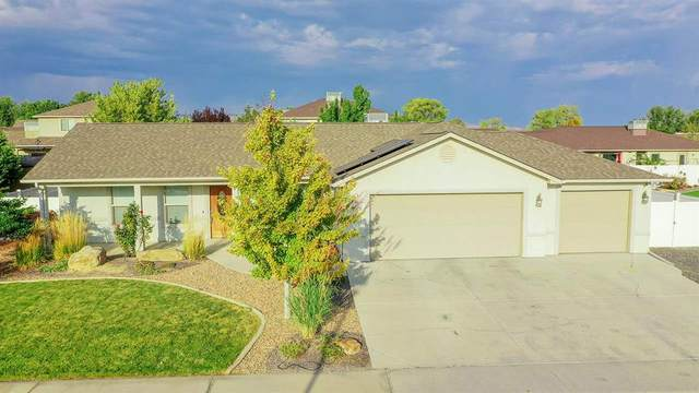 185 Sun Hawk Drive, Grand Junction, CO 81503 (MLS #20212084) :: The Joe Reed Team