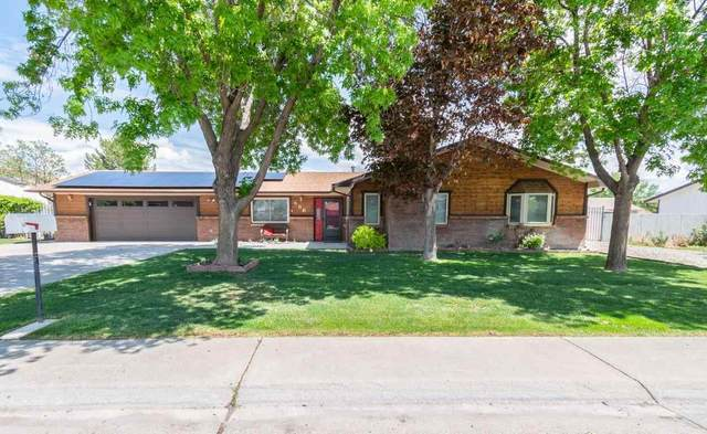 586 Stanford Way, Grand Junction, CO 81504 (MLS #20212148) :: Western Slope Real Estate