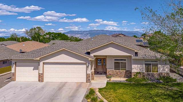 206 Vista Hills Drive, Grand Junction, CO 81503 (MLS #20212313) :: The Danny Kuta Team