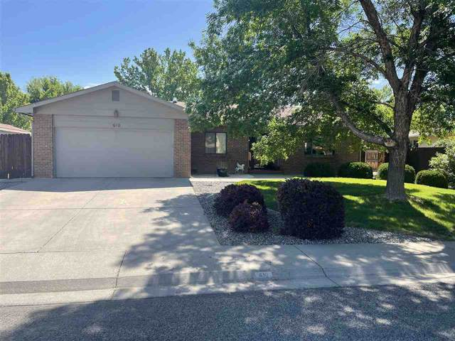 610 Cris Mar Street, Grand Junction, CO 81504 (MLS #20212385) :: The Kimbrough Team | RE/MAX 4000