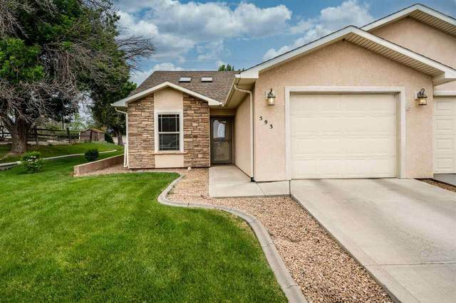593 Belhaven Way, Grand Junction, CO 81501 (MLS #20212528) :: Michelle Ritter