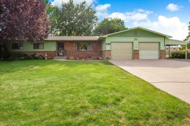 483 Apple Blossom Road, Grand Junction, CO 81504 (MLS #20212762) :: The Grand Junction Group with Keller Williams Colorado West LLC