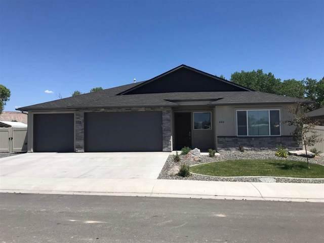 644 Thunder Ridge Drive, Grand Junction, CO 81504 (MLS #20212793) :: The Joe Reed Team