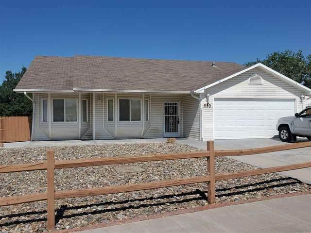 533 Citrus Street, Grand Junction, CO 81504 (MLS #20212845) :: Michelle Ritter